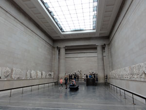 The British Museum Morning Day 4 Saturday Sept 3