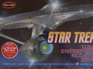 1/1000th scale Enterprise refit
