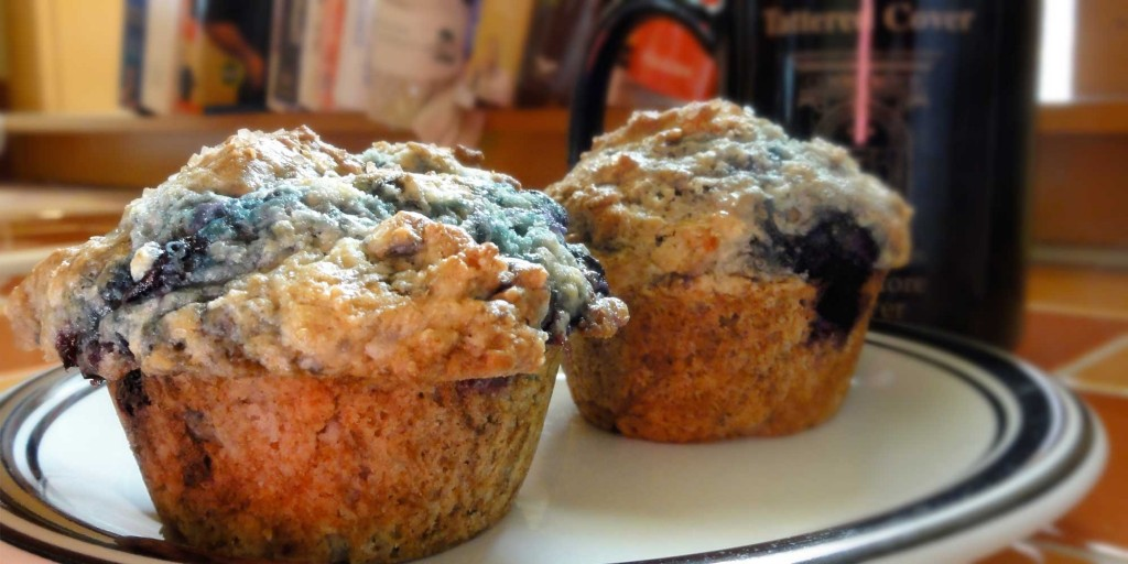 Near perfect blueberry muffins – virtualight