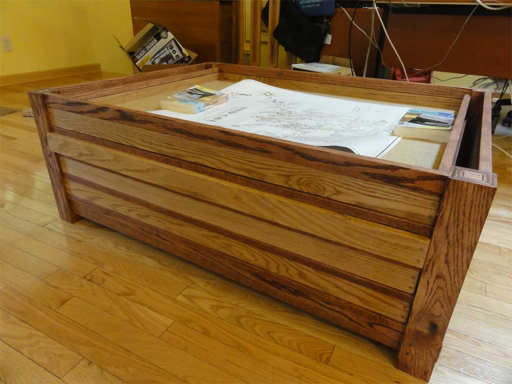 Document case/coffee table