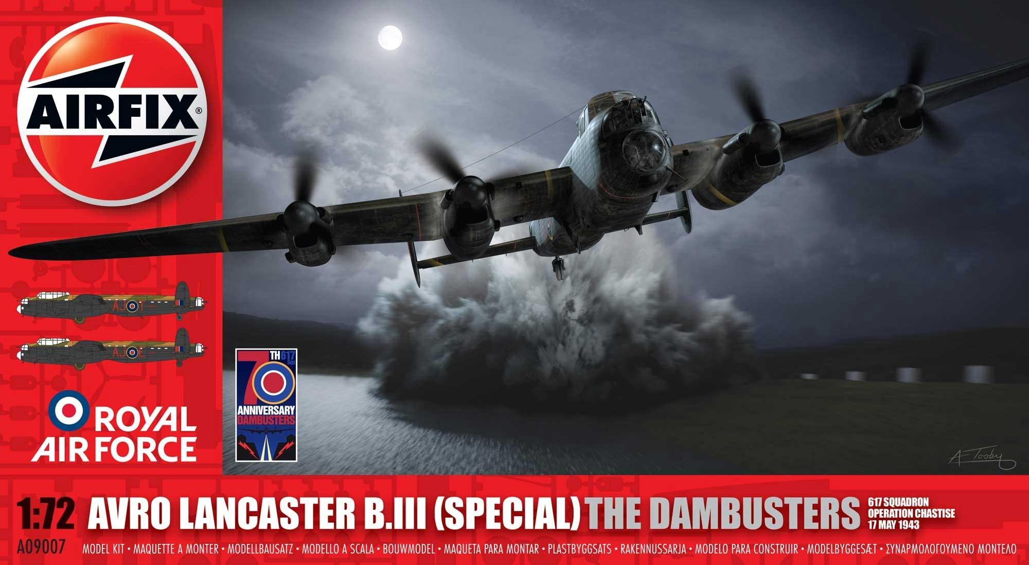 Sky Models Decals 1//72 AVRO LANCASTER British WWII Bomber