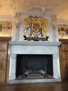 Royal Arms of Scotland in Laich Hall